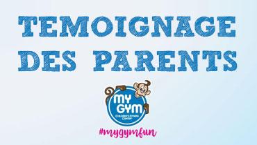 témoignages des parents